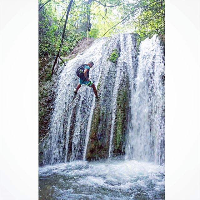 if it scares you, it might be a good thing to try tb rappelling ... (Wadi Jhanam)