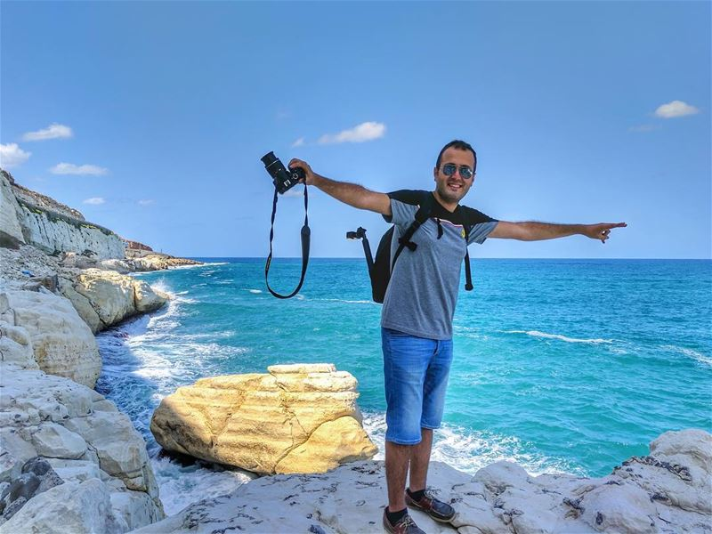 Picturing around the borders 🌊📡📷••••••••••••••••••••••••••••••••••••••• (En-Naqourah, Liban-Sud, Lebanon)