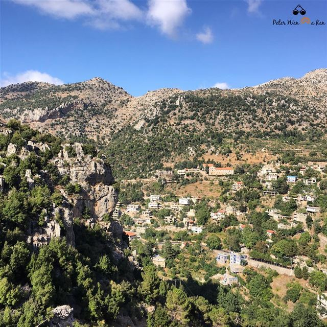 Create the life you can't wait to wake up to peterwenmaken Morning peeps... (Tannurin At Tahta, Liban-Nord, Lebanon)