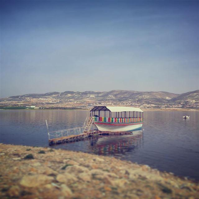 lebanon bekaa beqaa qaraoun qaraounlake liveloveelebanon ... (Lake Qaraoun)