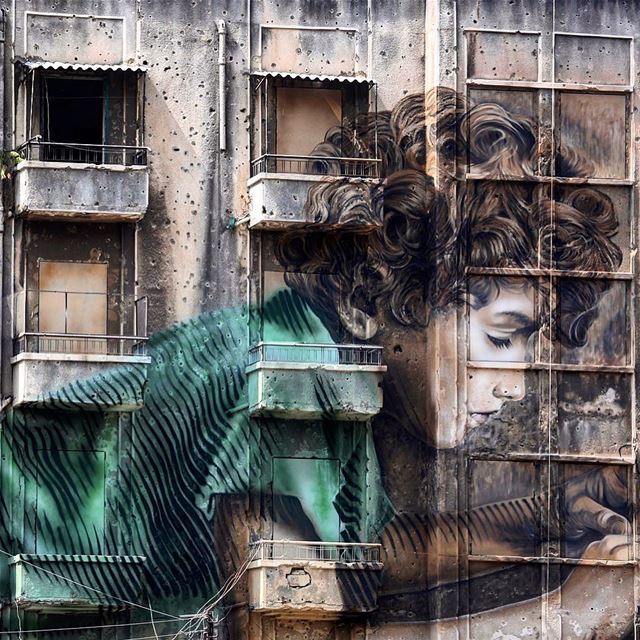 Good morning Beirut. streetart beirut lebanon pbzinbeirut ...