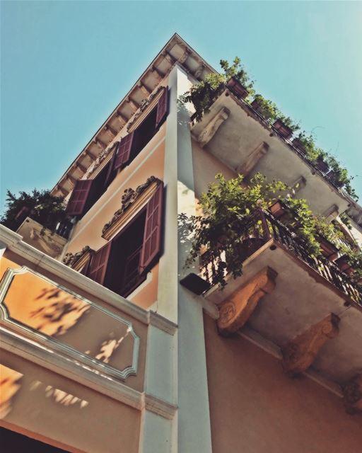 LebanonInAPicture Door Balconies Heritage Old SaveBeirutHeritage ... (Beirut, Lebanon)