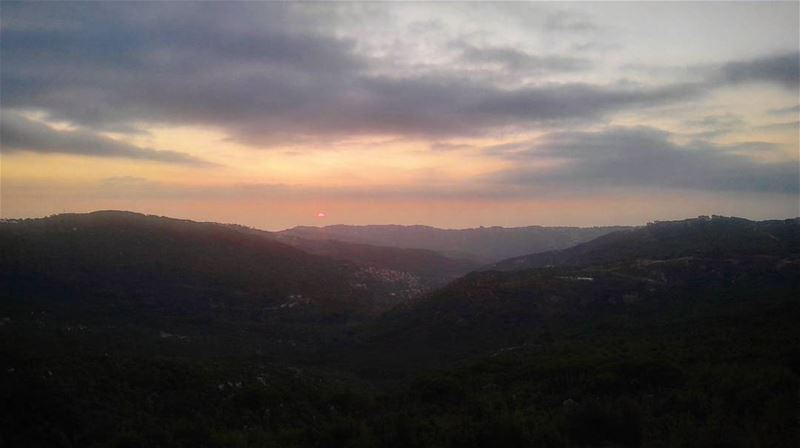The last summer sunset lebanon summer summerend sun sunset ... (Qarnayel)