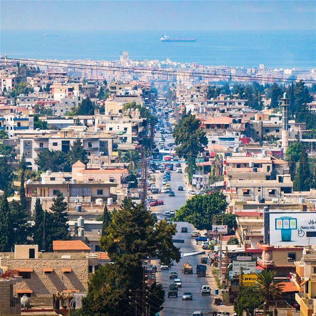 The main road in Akkar lebanon ... (Halba)
