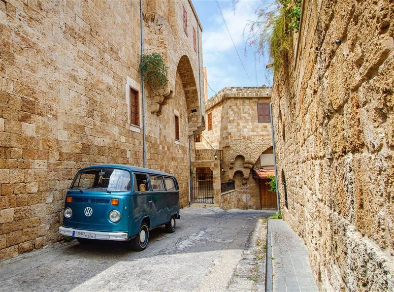Batroun old market street walk vintage mosque photography arch ...