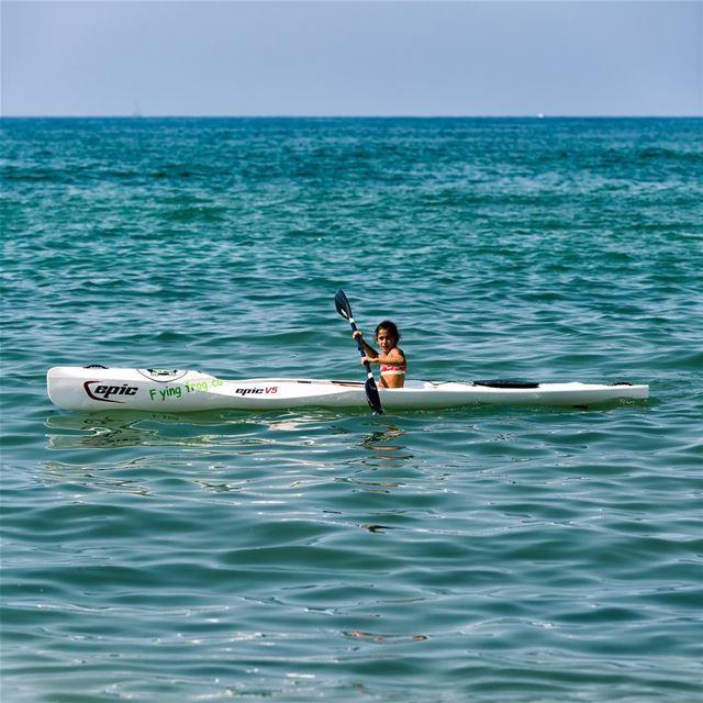 Even kids enjoy their Surfski experience!!!📷 @highsamachkar......