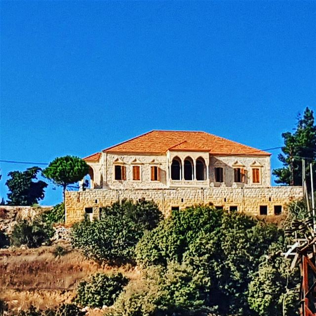 Some people look for a beautiful place others make a place beautiful 🏠... (Kafr Kila, Lebanon)