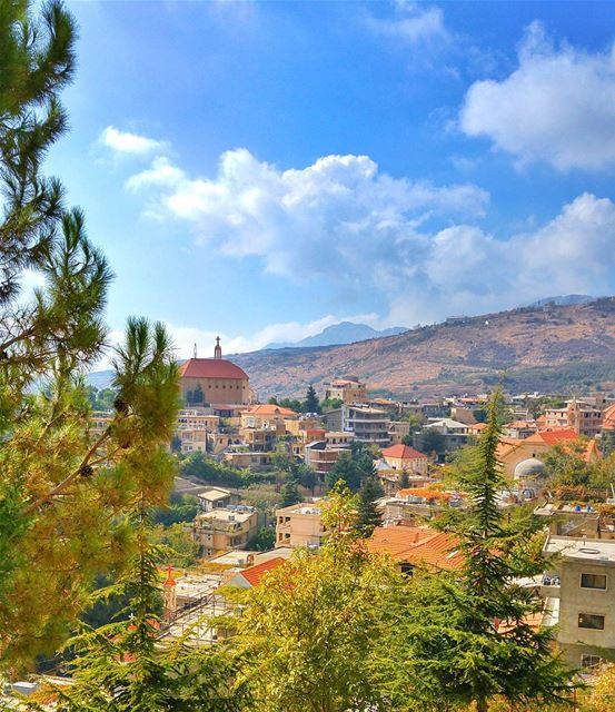 Beautiful Akoura lebanon nature naturelovers natureporn landscape ... (Akoura, Mont-Liban, Lebanon)