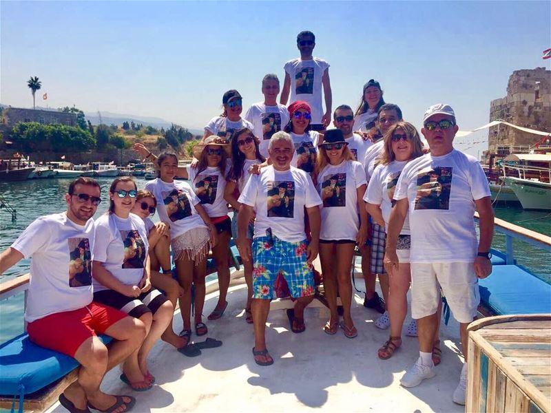 byblos livelovebyblos livelovelebanon birthday boat trip big... (Byblos, Lebanon)