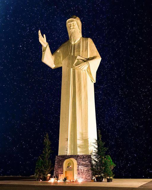 يا شربل احمينا 🙏❤️ (St Charbel Faraya)