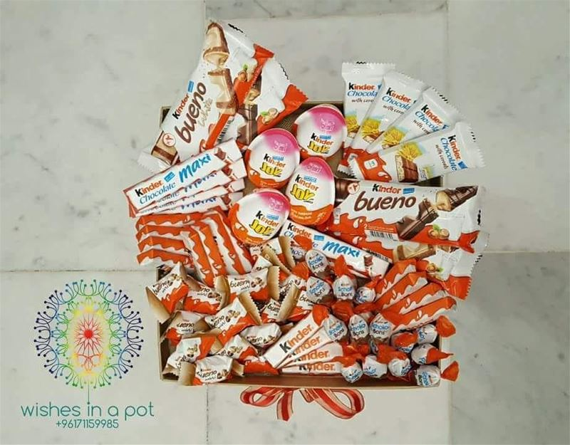 Day9 25% discount on all kinder themed boxes: 71159985 ZEINAsMonth ...