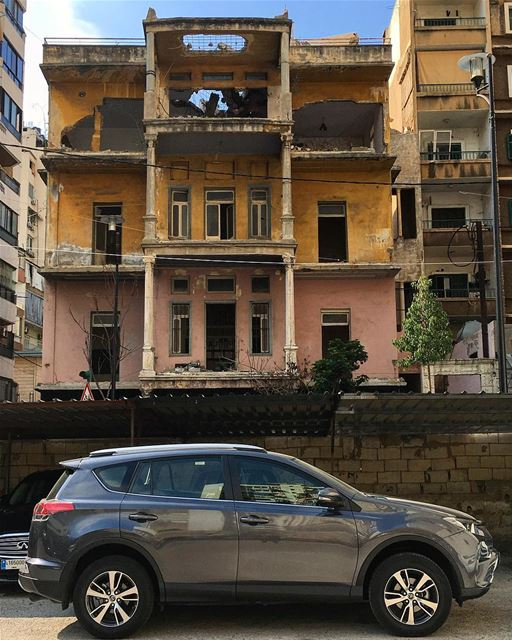 Nearby neighborhood (iPhone shot) street oldbeirut walk vintage ...