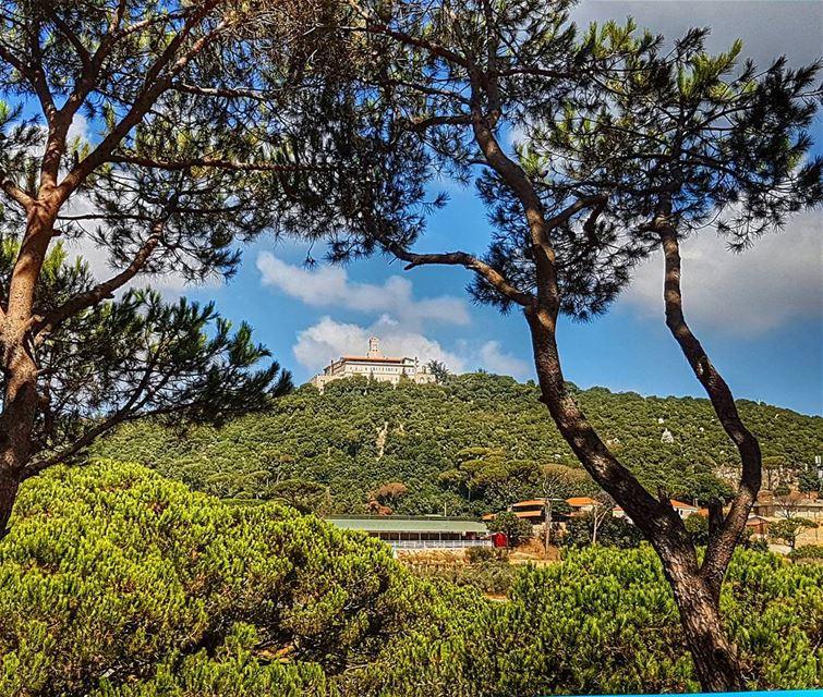 The farm and the monastery marchaaya monastery farm mountain green ... (Ferme Mar Chaaya)