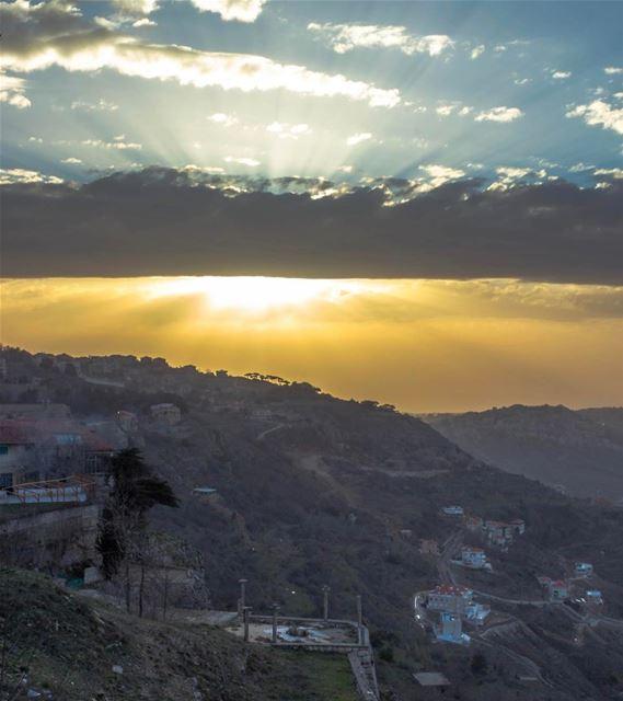 Sawfar cloudy landscape nature lebanon sightseeing lebanon_hdr... (Sawfar, Mont-Liban, Lebanon)