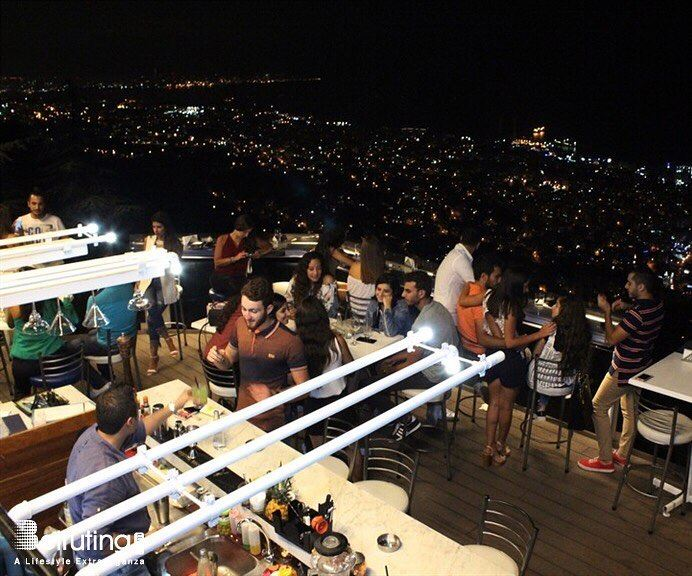 Weekend vibes AtTheTop!✨ HappyFriday BeirutNightLife InfinityBar ... (The Terrace - Restaurant & Bar Lounge)