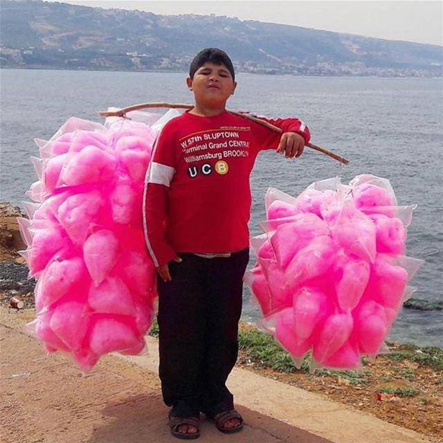 Cotton candy anyone ? 🍭🍭🍭...📸 @livelovetripoli ... morning... (Tripoli, Lebanon)