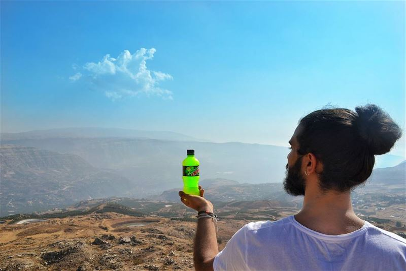 Camera caught us on our 2000m date. My kind of mountain! ... (El Laklouk, Mont-Liban, Lebanon)
