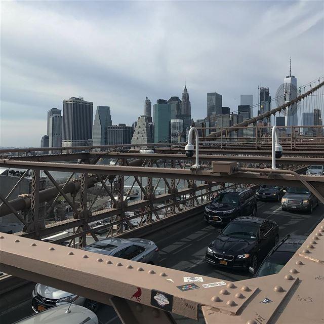 [NEW YORK CITY] nyc brooklyn manhattan brooklynbridge love travel ... (Brooklyn Bridge)