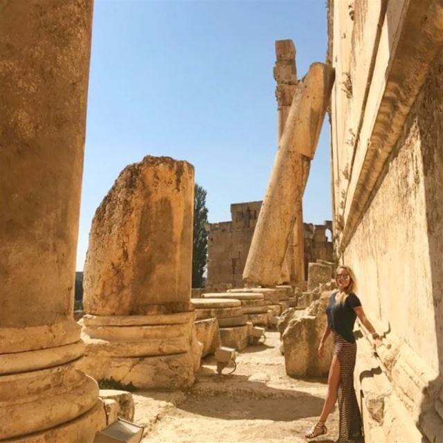 Baalbeck, Lebanon's greatest Roman treasure. The beautiful Temples of... (Baalbek , Roman Temple , Lebanon)