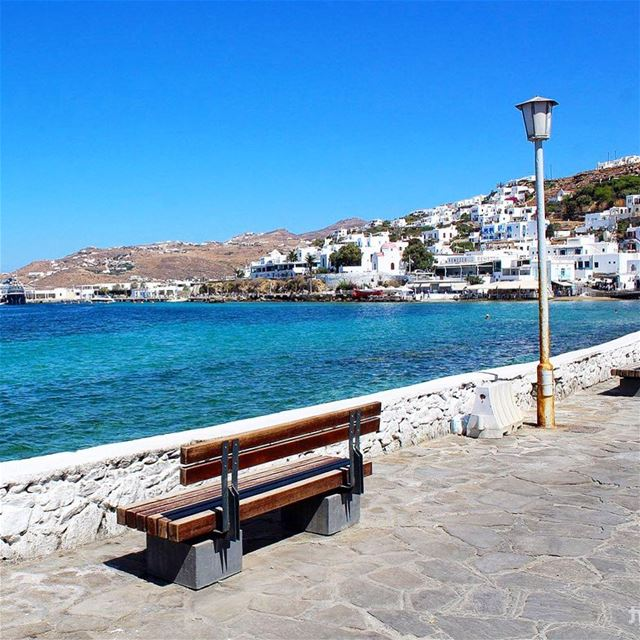 -Relaxing View- ... mykonos greekislands greece positivevibes ... (Mykonos)