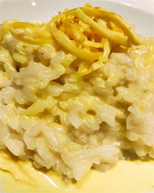 dinner risotto citron yummy delicious picoftheday photooftheday ...