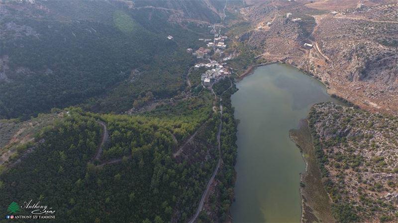بحيرة عيون السمك - الضنية شمال لبنان danniyeh lake northlebanon ...