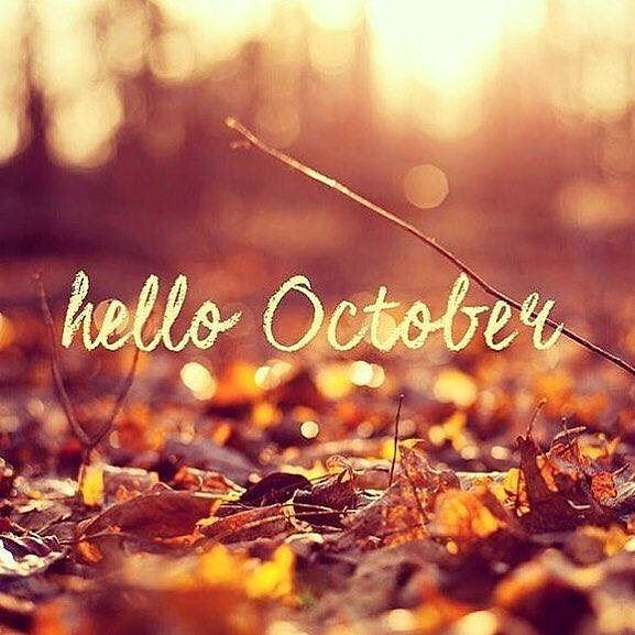 Cheers to a new month ahead, one that is as colorful as its autumn...