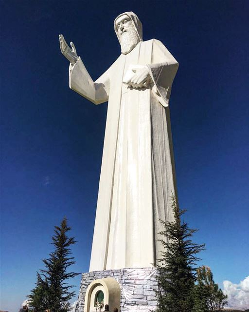 May Saint Charbel's blessings be upon all of you 🙏🏻 lebanon peace ...