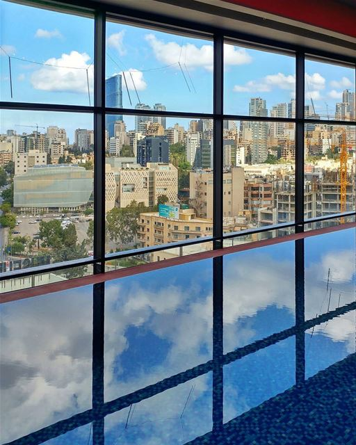 October ☁ and the 🏢 seen from the 16th @thesmallville_hotel floor during... (The Smallville Hotel)