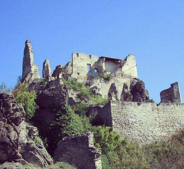 durnstein castle austria ruin architecture baroque ... (Dürnstein)