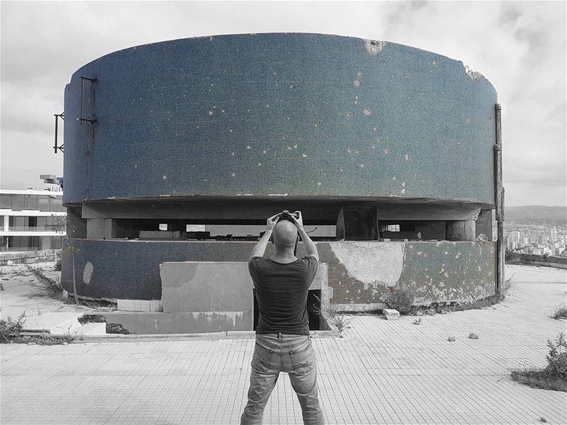 ~ Abandoned Holiday Inn Hotel - Rooftop ~ 📸 @baffahouse... abandoned ... (Beirut, Lebanon)