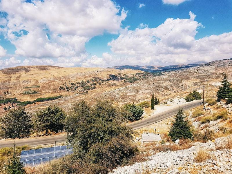 RU. Горы, звенящий воздух, ароматная смола кедров и никакого интернета - во (Bâroûk, Mont-Liban, Lebanon)