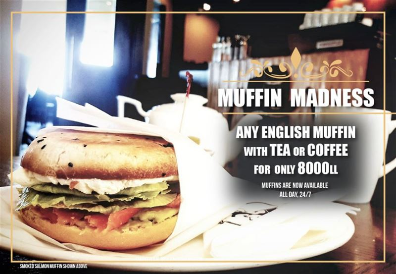 MUFFIN MADNESS IS HERE! Come and enjoy a beautiful home-made English...