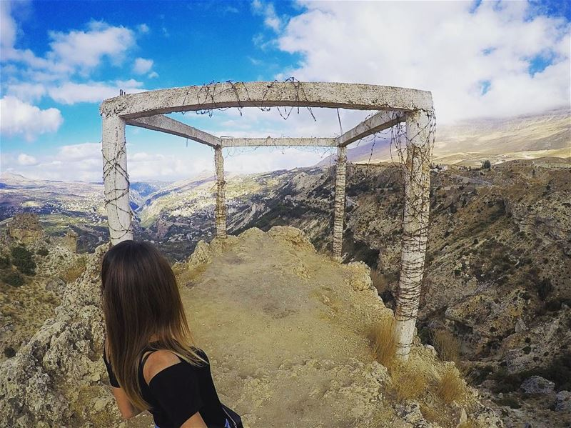 I didn't know where I was going UNTIL I GOT THERE 👆🏻 lebanon arez ... (Cedars of God)