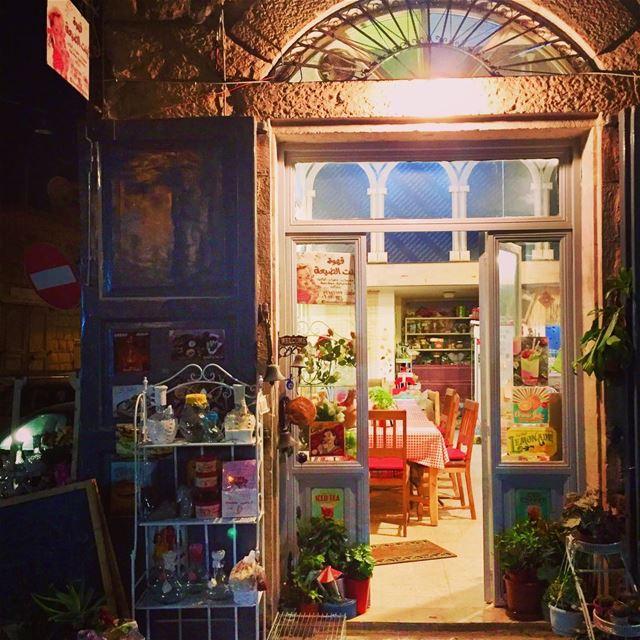قهوة بنت الضيعة old town Douma Village Lebanon Coffeshop ... (Douma, Liban-Nord, Lebanon)