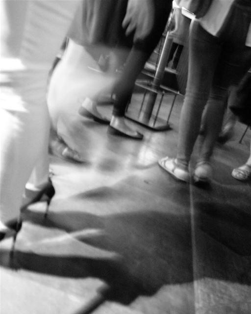 blackandwhitephoto blackandwhitephotography anightout people partying...