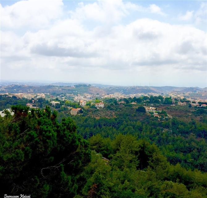 landscapephotography nature clouds green trees lebanon ...
