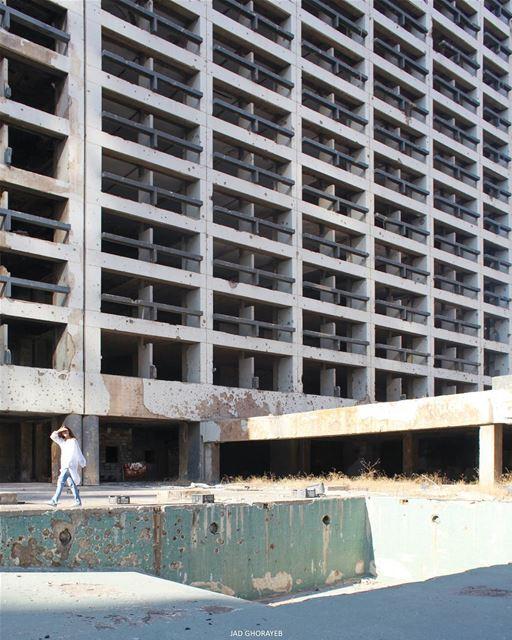 ~ Abandoned Holiday Inn Hotel ~... abandoned abandonedplaces ... (Beirut, Lebanon)