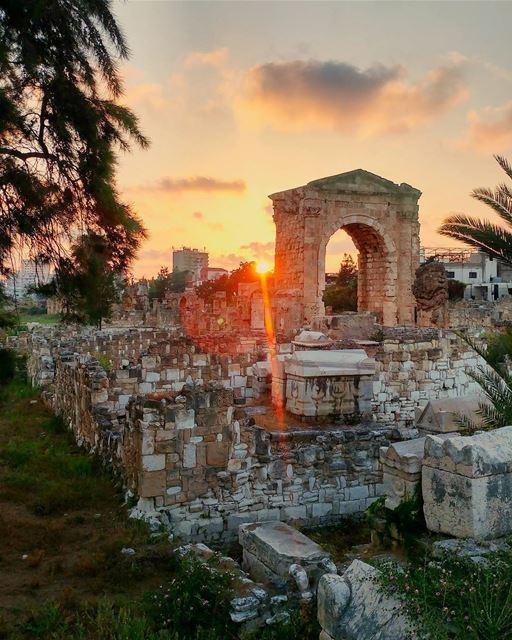 Tyrian sunset ☀