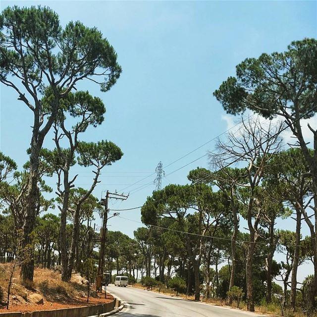 Lebanon. lebanon beirut country road insta_lebanon wearelebanon... (Baabdâte, Mont-Liban, Lebanon)
