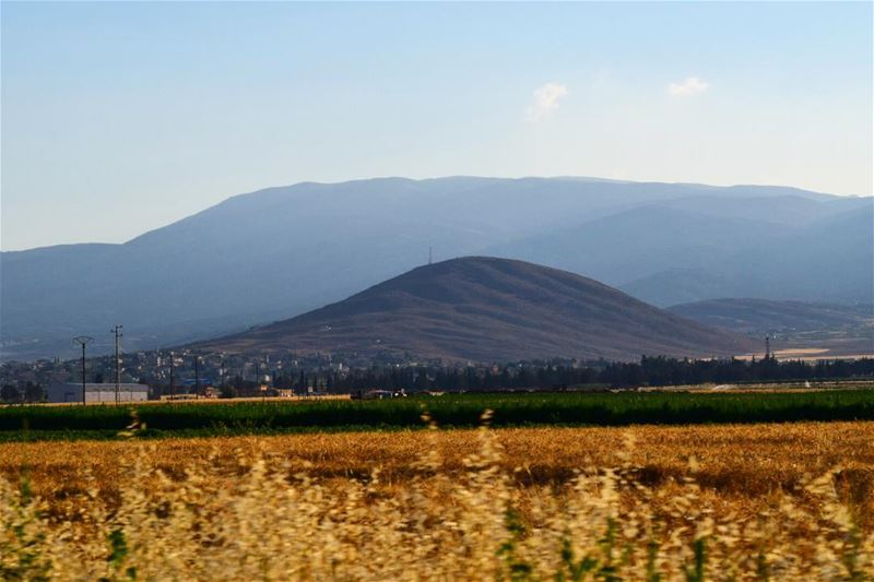 Waves and waves... nature naturelover naturephotography outdoor ... (Beqaa Valley)