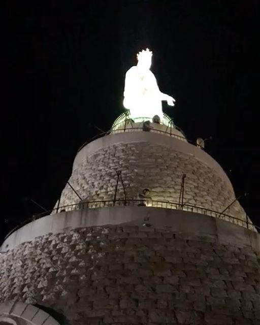 🙏🏻🇱🇧🇧🇷 Chegada de Nossa Senhora Aparecida, a Padroeira do Brasil, ao... (Our Lady of Lebanon)