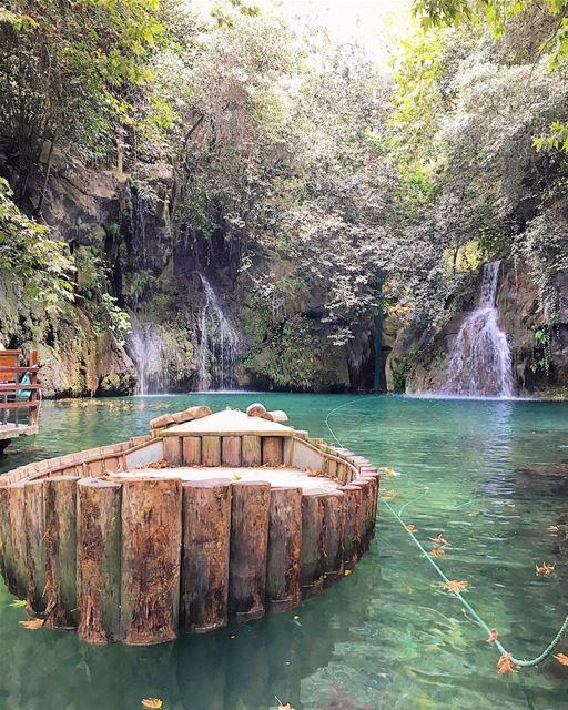 lebanon baakline waterfall instagood wanderlust travelgram ... (Baakline, Mont-Liban, Lebanon)