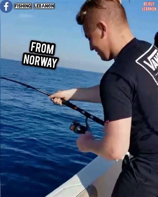 @bilalalexander @fishinglebanon @bigfishadventure - @instagramfishing @jigg (Beirut, Lebanon)