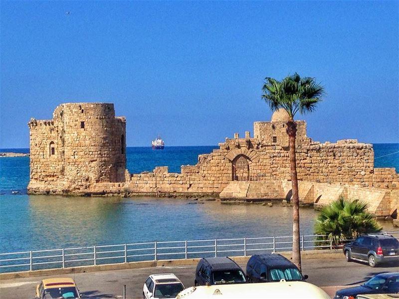 saida sidon saidafortress lebanon igers picoftheday pic ... (Sidon Sea Castle)