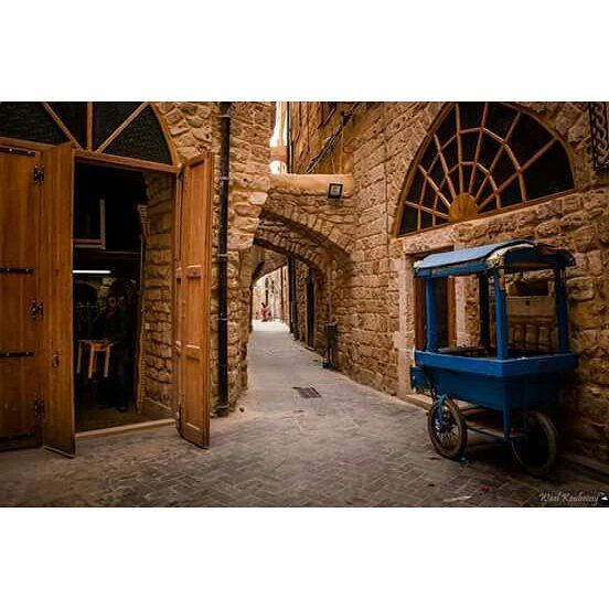 saida old souk street door gate market stone photography ...