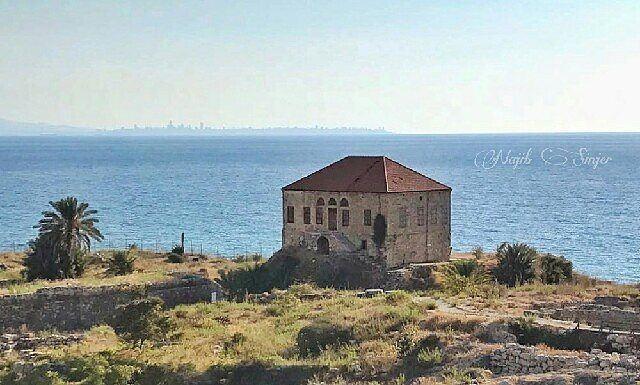 house byblos jbeil lebanon liban phonecia phonecian sea beach ... (Byblos, Lebanon)