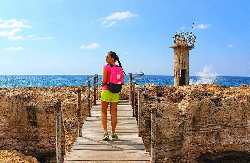 🗼🚢⚓️ Batrounport Batrounharbour Phoenicianport Phoenicianharbour Port... (Mina-batroun)