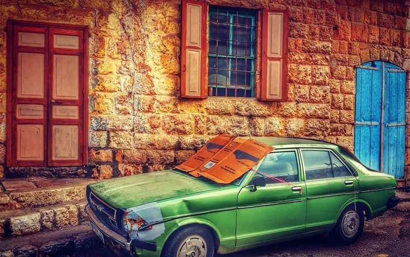 Vintage. oldcar village door window olddoor oldhouse ...