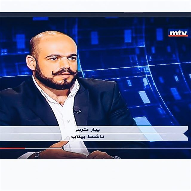 My second tv appearance mtv movember in october lebanon ootdmen...